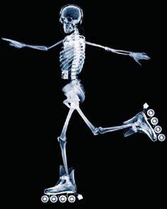 #Caveira ☆ #Esqueleto * Raio x #Patins *