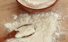 Receta básica: harina bizcochona - http://www.thermorecetas.com/receta-basica-harina-bizcochona/