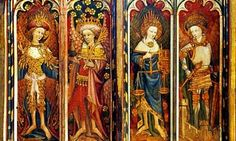 The Colors they wore... Paint my World Bright: Color in the Medieval Era b...
