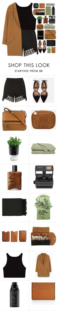 """""""#980"""" by giulls1 ❤ liked on Polyvore featuring Topshop, Zara, Givenchy, Bodum, NARS Cosmetics, Impossible, Surya, Tony Moly, Dot & Bo and Claudio Riaz"""