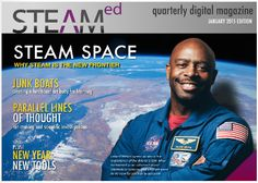 Brand new quarterly digital magazine with over 40 pages dedicated to STEAM education.  All free and featuring tools, tips, ideas, and resources from educators around the world.