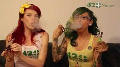 Infamous Glass Double Dabs with Two Girls