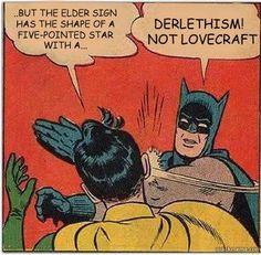 Damn straight! #Lovecraft