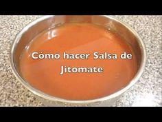 SALSA DE JITOMATE para Tortas Ahogadas, Antojitos Mexicanos, etc. - YouTube