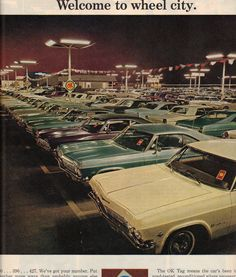 """The very popular Camrao A favorite for car collectors. The Muscle Car History Back in the and the American car manufacturers diversified their automobile lines with high performance vehicles which came to be known as """"Muscle Cars. 1965 Chevy Impala, Chevrolet Impala, New Car Smell, Retro Cars, Vintage Cars, Vintage Auto, Car Manufacturers, Cars"""
