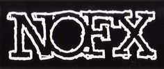 NOFX- Outline Logo sticker (st254)