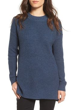 Free shipping and returns on BP. Ribbed Mock Neck Pullover at Nordstrom.com. A roomy drop-shoulder silhouette and a chunky rib-knit design provide this long mock-neck sweater with a cozy feel and an easy, laid-back look.