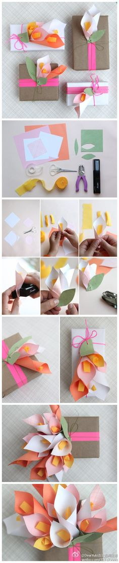 Pretty giftwrap good idea to add one to each order of prints to dress it up :)