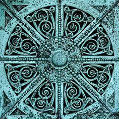 Getty Tomb by Sullivan, door detail by suttonhoo, via Flickr
