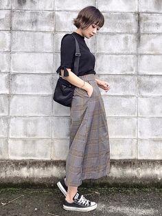 ご覧頂きありがとうございます😊 チェックのスカート可愛いです💕