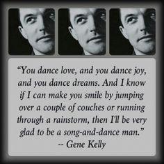 Gene Kelly. Happy Birthday.