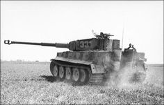 Panzer VI Ausf  E  Tiger I from.SS.PzAbt.101 Normandy_1944