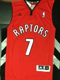 9e339811b77 Toronto Raptors Basketball Jersey Kyle Lowry 7 Size Large Shirt Red Colour