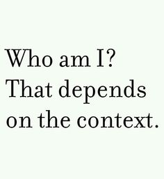 That depends. ..