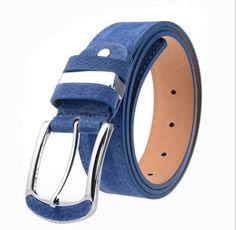 7138e419b27 Luxusní dámský pásek MODRÝ Na tento produkt se vztahuje nejen zajímavá  sleva