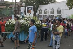 Image result for Mother Teresa in the processions canonization