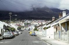 Roberts street, Woodstock 1977. by Etiennedup, via Flickr Cities In Africa, Old Photos, Vintage Photos, Most Beautiful Cities, Woodstock, Cape Town, Live, South Africa, Around The Worlds