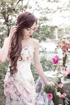 15 Floral Wedding Dresses | Alternative Wedding Dresses | Bridal Musings Wedding Blog 14