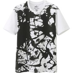 MEN SPRZ NY GRAPHIC SHORT SLEEVE T SHIRT (JACKSON POLLOCK)