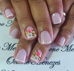 Love Nails, Fun Nails, Pretty Nails, Spring Nail Art, Spring Nails, Colorful Nail Designs, Nail Art Designs, Magic Nails, Studded Nails