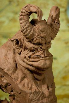 Cyril Roqulaine:genio en las Esculturas de terror