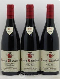 Gevrey-Chambertin Vieilles vignes Domaine Denis Mortet 2010 - 66€ pièce