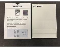RAL 9010 kleurstaal