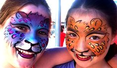 Cheetah girl face