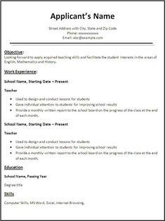 Free Resume References Template Freeresumetemplates