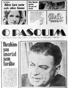 O Pasquim, um jornal feito por livres pensadores.