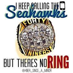 No ring.
