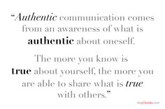Communication......