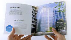 Une brochure de haute qualité pour un projet immobilier prestigieux