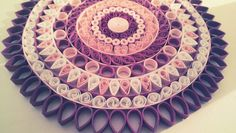 Quill Mandala art