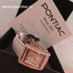 --- pontic Classic Rose --- Ladies watch, for sale at www.bypontiac.nl