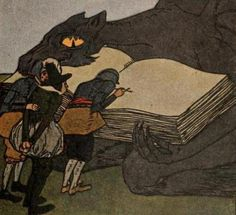 The Devil and His Grandmother #German #folktale #fairytales #BrothersGrimm #GrimmBrothers
