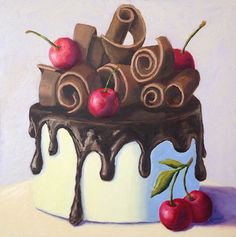 Pat Doherty | OIL | Chocolate Swirl Cake