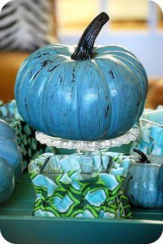 aqua pumpkin