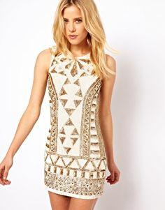 Needle & Thread Sunstone Mini Dress