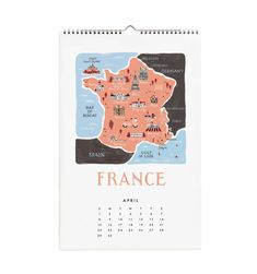 Cities of the world 2017 frameable wall calendar world wall calendar map travel voyage france francais stationery paper vintage gumiabroncs Gallery