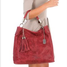 Host Pickred Italian Leather Tassel Bag