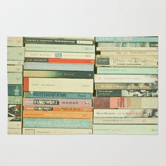 Bookworm Area & Throw Rug