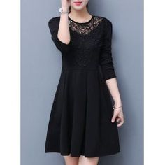 SHARE & Get it FREE | High Waist Lace Trim A Line DressFor Fashion Lovers only:80,000+ Items • FREE SHIPPING Join Twinkledeals: Get YOUR $50 NOW!
