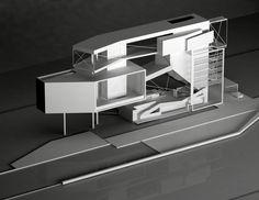 Unique Architecture, Architecture Student, Interior Architecture, Hidden Spaces, Maine House, Large Windows, House Rooms, Aviation, Villa