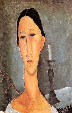 Portrait of Anna Zborowska, 1919