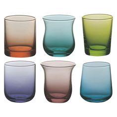 BITOSSI Set of 6 assorted shot glasses | Buy now at Habitat UK