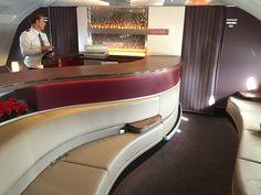 Qatar Airways A380 Business and First Class Lounge http://www.tipsfortravellers.com/qatar-airways-a380-photos/ #qatarairways #QatarA380