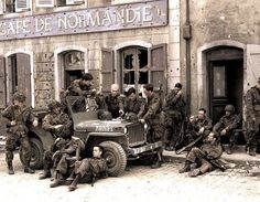 Band of Brothers - Cafe De Normandie
