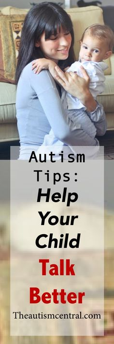 Do you want to help your child talk better? Here are some autism tips that you can use to improve your child's ability to communicate. http://theautismcentral.com/index.php/2018/05/17/autism-tips-help-your-child-talk-better/ #autism #autismparenting #autismawareness #speechdelay