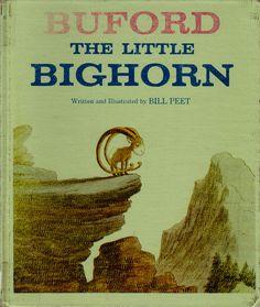 vintage Bill Peet kids book Buford The Little by OnceUponABookshop, $6.00